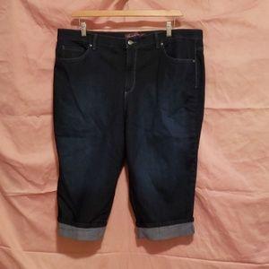 20w Gloria Vanderbilt Amanda Capri jeans